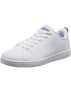 adidas VS ADVANTAGE CLEAN K - Zapatillas deportivaspara niños, Blanco - (FTWBLA/FTWBLA/AZUL), 33