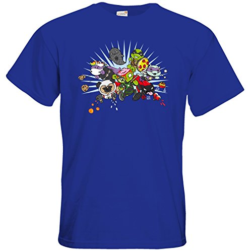 getshirts - Crapwaer - T-Shirt - Superheroes Royal Blue