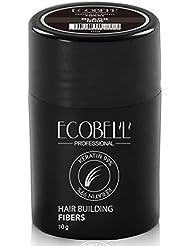 Ecobell 10 grammes CHATAIN MOYEN Poudre densifiante densité cheveux
