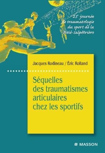 Squelles des traumatismes articulaires chez les sportifs