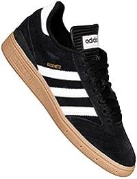 adidas BUSENITZ - Zapatillas deportivas para Hombre, Negro - (NEGRO1/RUNBLA/OROMET) 46 2/3