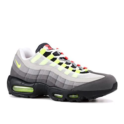Nike Air Max 95 'Greedy' OG QS 2015 - Black/Safety Orange/Volt Trainer