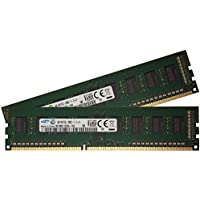 Samsung 8GB (2 x 4GB), DDR3 PC3L-12800, 240-pin DIMM, desktop memory part (M378B5173EB0-YK0 x (Samsung Buffered Memoria)