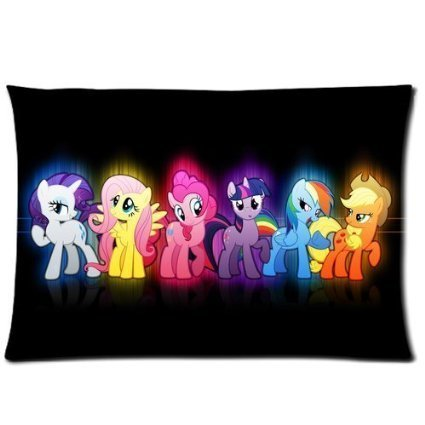 andersonfgytyh Cartoon My Little Pony Custom Rectangle Pillow Cases 20x30 (one side) Friendship is Magic