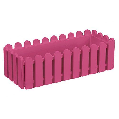 Emsa Blumenkasten, Landhaus-Stil, Länge 50 cm, Pink Hell, Landhaus, 517691