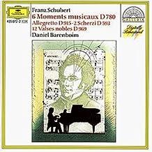 Schubert: Six Moments Musicaux by Franz Schubert