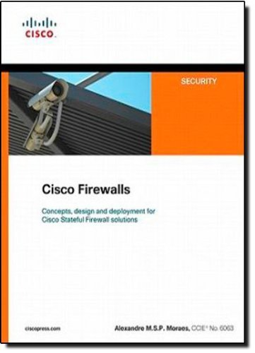 Cisco Firewalls (Networking Technology: Security) by Moraes, Alexandre M.S.P. (2011) Paperback
