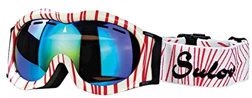 sulov-ninos-gafas-de-esqui-monty-doble-acristalamiento-invierno-unisex-color-blanco-rojo-tamano-tall