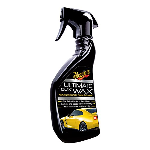 meguiar's ultimate quik wax liquid spray bottle (430 gm) Meguiar's Ultimate Quik Wax Liquid Spray Bottle (430 gm) 41AFpjPezqL