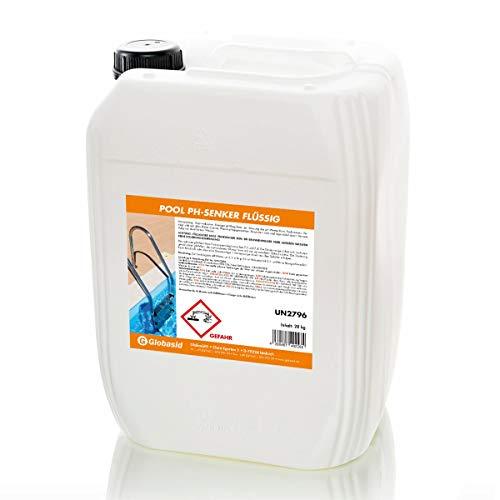 1 x 28 kg Kanister pH-Senker flüssig/pH-Minus flüssig für Pool-Wasser