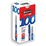 Sasco Ball Pen Bravo 100-25 Pen - Blue