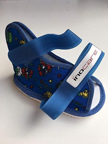 inocare 585-5-123 - Zapatos infantiles universales (talla XS), color rojo