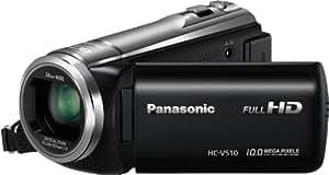 Panasonic HC-V 510 EG-K Camescopes Classique 1080 pixels Zoom Optique 50 x 2.51 Mpix