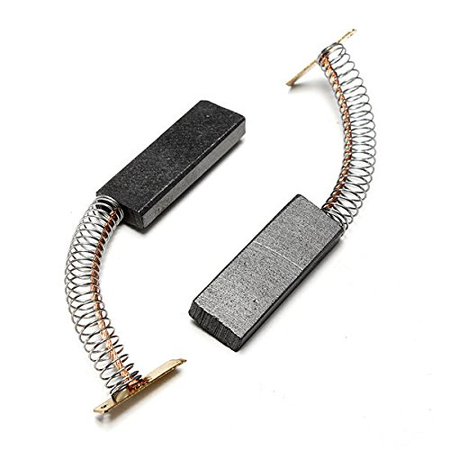 Price comparison product image PhilMat 2pcs Washing Machine Motor Carbon Brushes for Bosch Neff Siemens