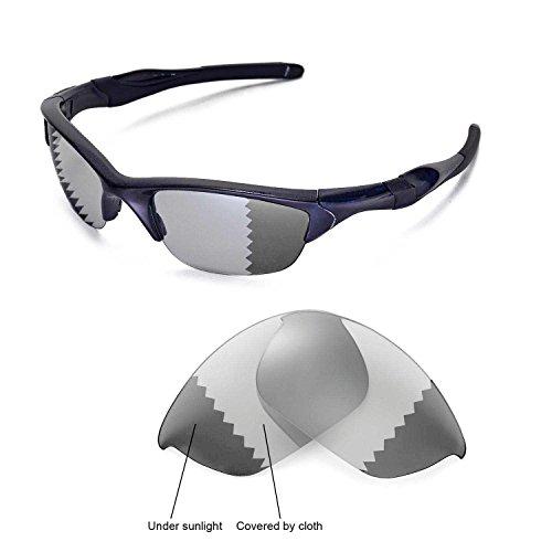sunglasses restorer Ersatzgläser für Oakley Half Jacket 2.0 | Polarized/Photochromic (Grey | Photochromic)