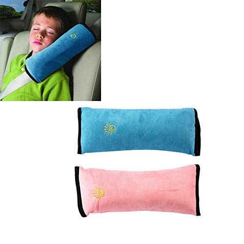 Preisvergleich Produktbild Universal Baby Children Car Safety Seat Belt Pillow Strap Soft Shoulder Pad Headrest Auto Car Cushion Support Children Protect