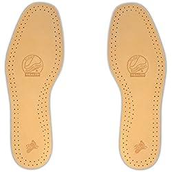 Batz Leather Comfort Plantillas de Cuero de Excelente Calidad - EU 39/40