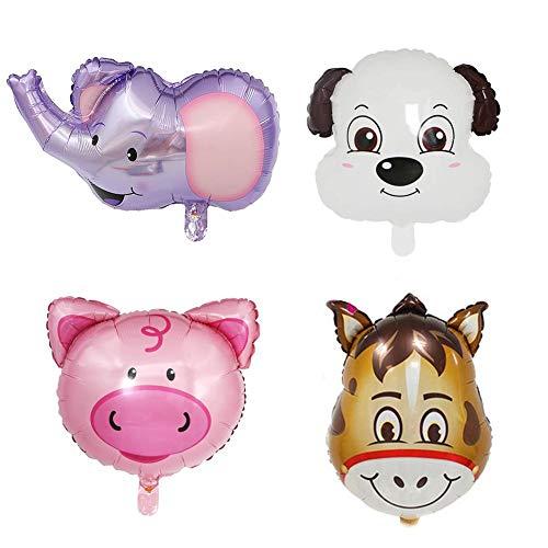 Inflated Tierkopf Ballon für Kinder Geburtstag Party Dekoration ()