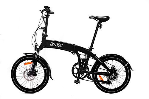 ELFEi Compact Elektro-Klapprad E Bike Klapprad City-Klapprad E Bike E-Bike Klapprad Elektrofahrrad Pedelec mit 250 W Hinterradmotor Lithium Ionen Akku 36 Volt, 10,2 Ah 367 WH