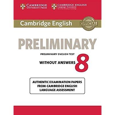 Cambridge English Preliminary. Student's Book. Without Answers. Per Le Scuole Superiori. Con Espansione Online: 8