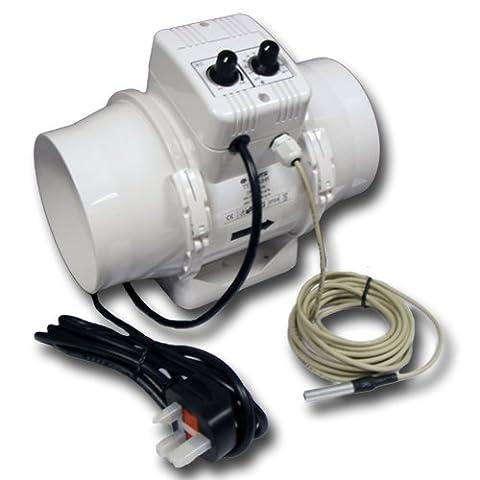 Extracteur TT.UN Ø125mm Thermo Control -VENTS