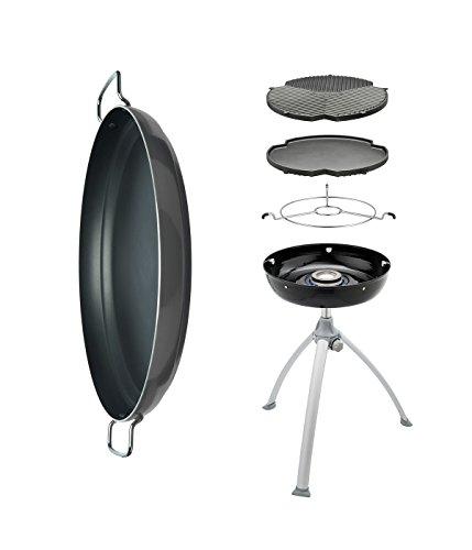 Cadac Grill O Gas mit umkehrbarem Grill & Paella Pan