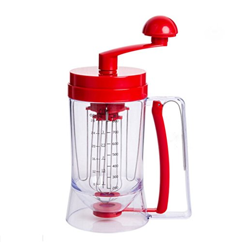 hosaire-manual-pancake-machine-cupcake-funnel-batter-dispenser