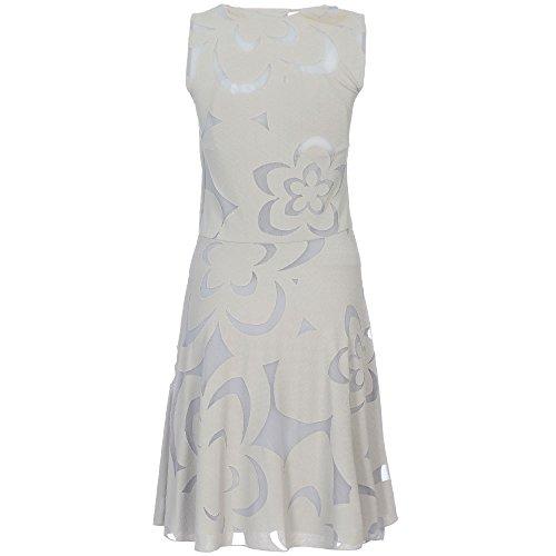 Emporio Armani Damen Kleider R2A01JR2N5J Grau