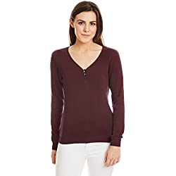 United Colors of Benetton Women's Cotton Sports Knitwear (16A1092D6163IA16S_Fig)