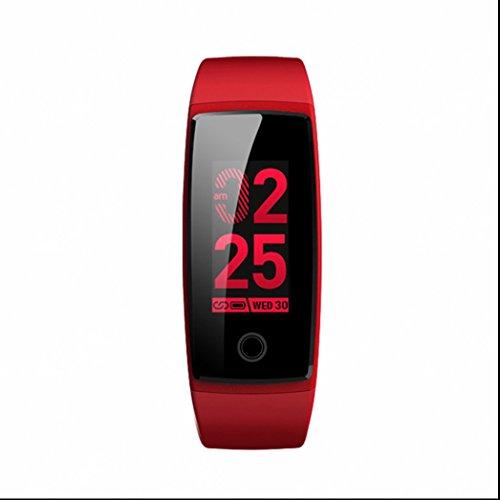 Fitness Armbanduhr Activity Tracker Sport Bracelet,täglich wasserdicht,Schlafmonitor,Vibrationswecker,Anti-Telefonverlust,Anrufer Identifikation Fitness Armband für Android Smartphone Samsung HTC Sony (Tägliche Anrufer)