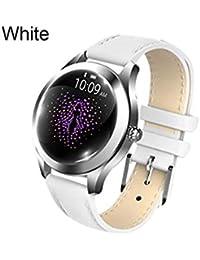 NUEVO KW10 Pulsera inteligente Correa de acero Reloj de pulsera Multi - Modo deportivo Reloj inteligente Reloj inteligente para mujeres, actividades al aire libre para actividades de seguimiento