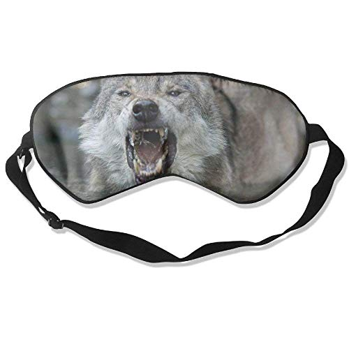 7a306f7b8d9d Wolf Angry 99% Eyeshade Blinders Sleeping Eye Patch Eye Mask Blindfold For  Travel Insomnia Meditation