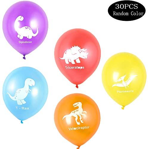 Integrity. 1 30 pezzi dinosauro palloncini in lattice,palloncini jurassici per festa tema dinosauri, per decorazioni per palloncini di compleanno per bambini, feste a tema per le vacanze