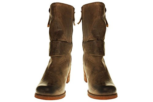 YELLOW CAB - Stiefel RORY W - Y 28087 - antracite Olive