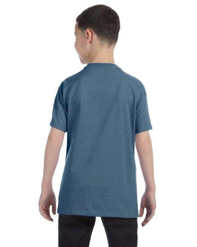 Hanes Youth 6.1 OZ. Beefy-T Denim Blue
