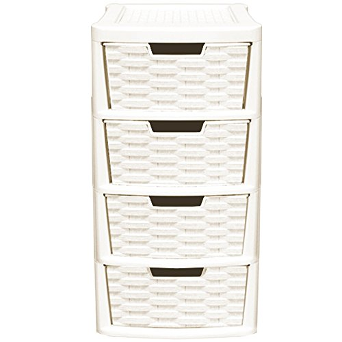 crazygadget-rattan-style-plastic-small-4-drawer-tower-storage-unit-for-school-home-office-made-in-uk