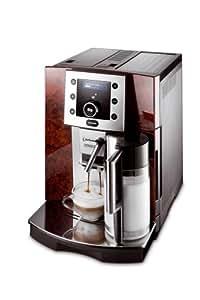 DeLonghi ESAM 5500 Kaffee-Vollautomat (Pronto Cappuccino Funktion, Milchbehälter) wurzelholzoptik