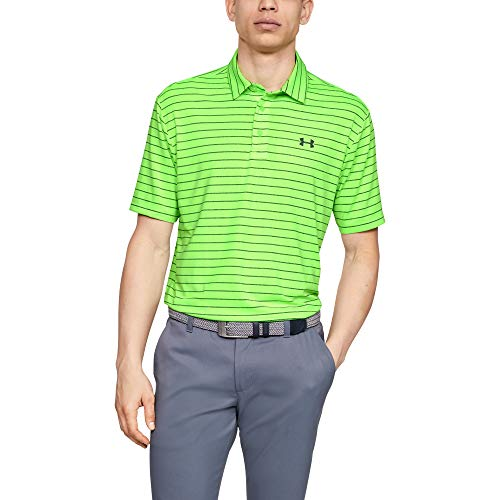 Under Armour Herren Playoff 2.0 Poloshirt, Lime Light, 3XL - Under Armour-spiel-tag Grün