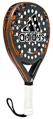 adidas Energy - Pala pádel unisex, color gris / naranja / negro / blanco, talla única