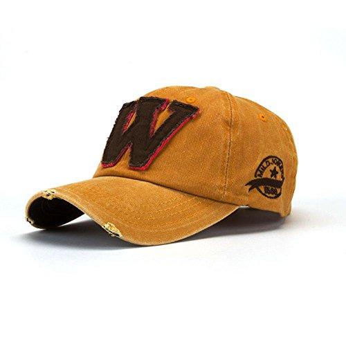 Malloom SnapBack sombreros Unisex verano letra W Hockey béisbol Gorras Hip Hop gorros
