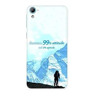 Premium Attitude Success Back Case Cover for HTC Desire 826