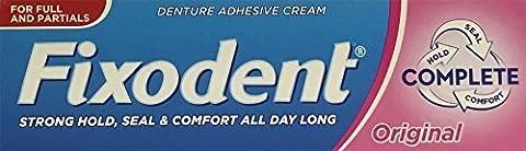 Fixodent Original Denture Adhesive Cream 47g x 3 Packs by