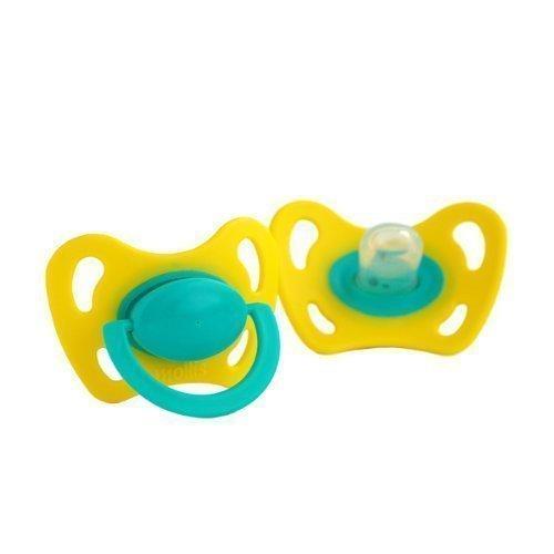 Preisvergleich Produktbild Mollis Silicon-Schnuller Gr. 1 mit Ring 2 Stk
