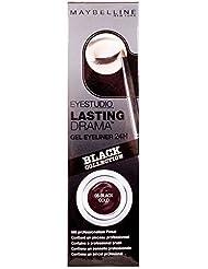 Maybelline Eye Studio Gel Liner - Black Silver - Packung mit 6