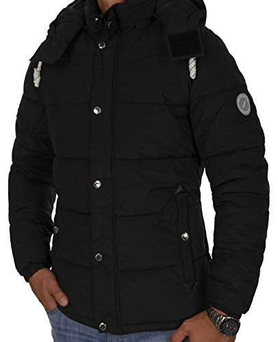 Jack & Jones Herren Jacken / Winterjacke joFigure Schwarz (Black Fit:ONE jorFIGURE)