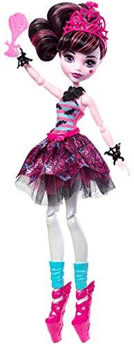 Monster High FKP61 Ballerina-Monsterfreundin Draculaura (Dracula-monster High Puppe)