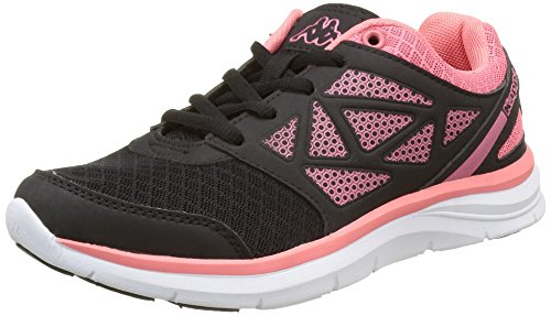 kappa-damen-fanger-pu-sneaker-schwarz-noir-949-black-peach-39-eu
