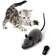 Marysa Rat Toy, RC Funny electrónico inalámbrico Control Remoto Ratón Rata Mascota de Juguete para