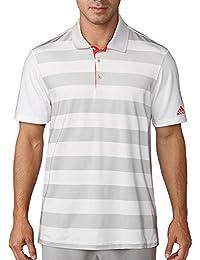 Polos Adidas Golf gris ardoise homme