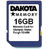 16GB Memory Card for Olympus Stylus Tough TG-850